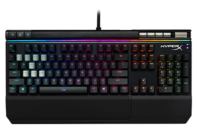 [정림전자] HyperX Alloy Elite RGB Mechanical Gaming Keyboard RGB 기계식 게이밍 키보드( HX-KB2BL2-US/R1 / HX-KB2BR2-US/R1)