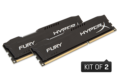 16GB 1866MHz DDR3 CL10 DIMM (Kit of 2) HyperX FURY(PC3-14900)